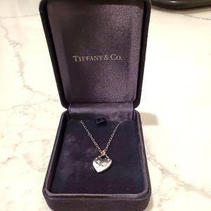Tiffany's 18k Etoile heart Pendant, small